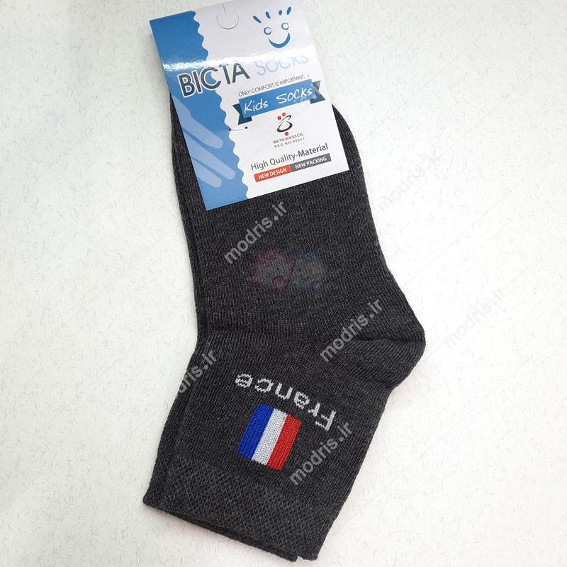 جوراب نیم ساق بچه گانه مدل France بیکتا سایز 4