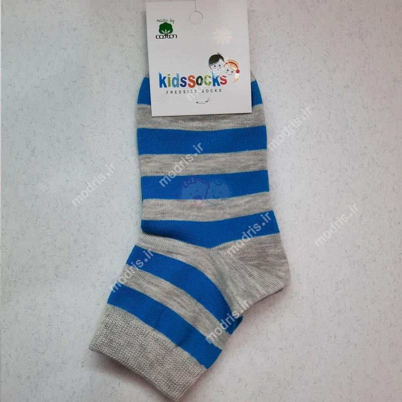 جوراب نیم ساق بچه گانه رینگی Kidsscks سایز 5